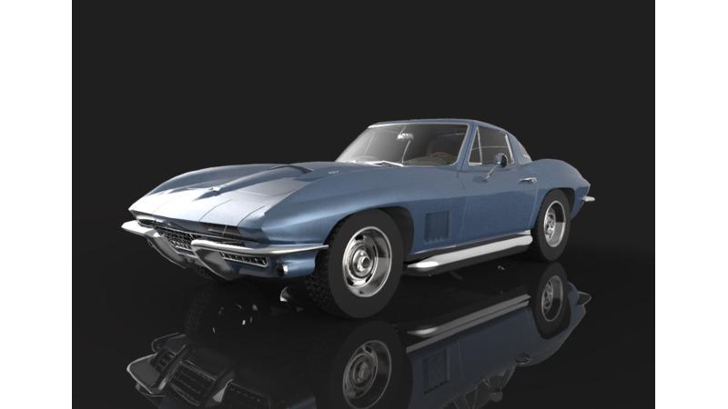 Chevrolet Corvette - 3D Cars - 3D Motor Bikes - 3D Trucks