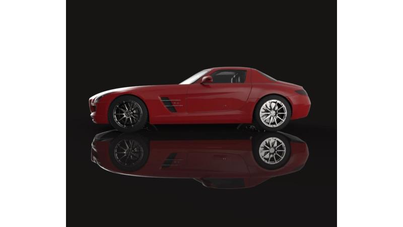 Mercedes-Benz SLS AMG - 3D Cars - 3D Motor Bikes - 3D Trucks