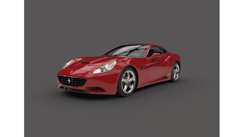 Ferrari California 3d Cars 3d Motor Bikes 3d Trucks