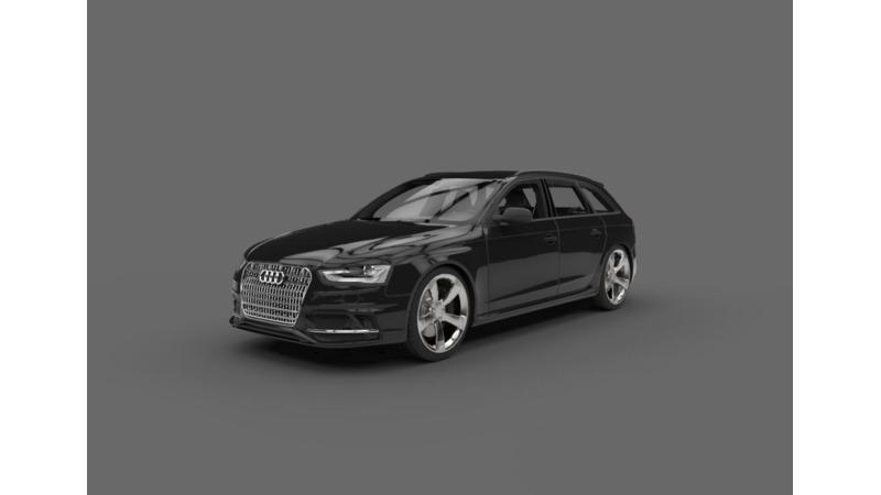 Audi RS 4 - 3D Cars - 3D Motor Bikes - 3D Trucks