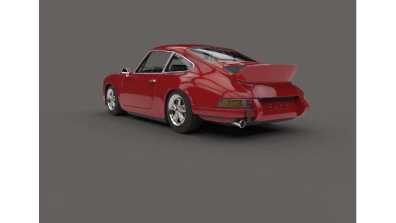 Porsche - 3D Brand