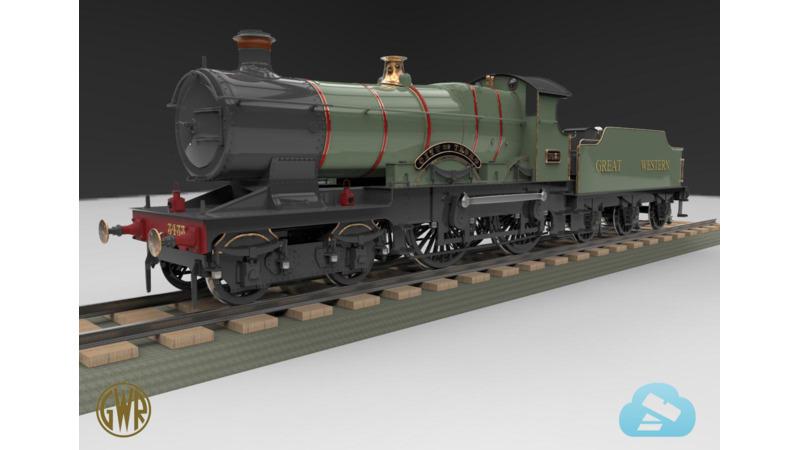 GWR 3700 Class - 3D Vehicle - 3D Data