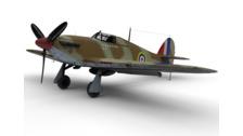 Twin-boom aircraft - 3D Vehicle - 3D Data