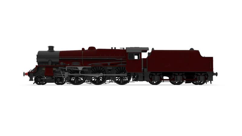 LMS Jubilee Class - 3D Vehicle - 3D Data