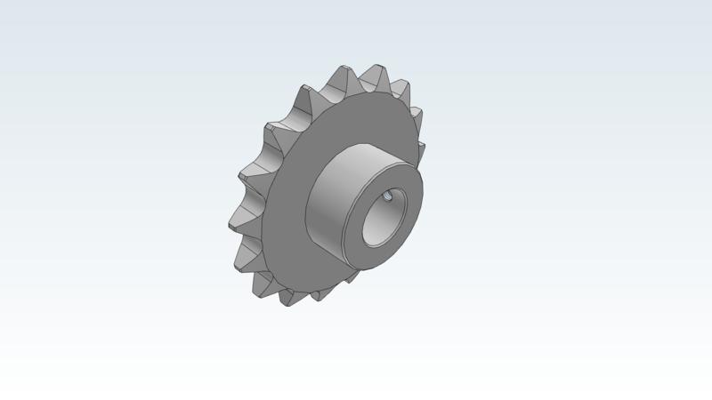 Sprocket - 3D CAD Models & 2D Drawings
