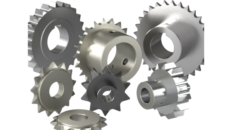 Sprocket - 3D CAD Models & 2D Drawings