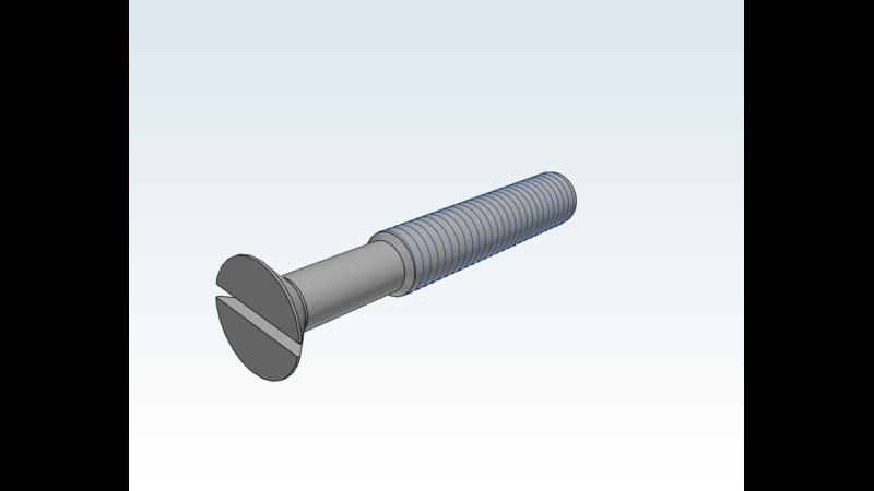 Screw - 3D CAD Models & 2D Drawings