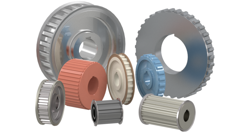 Pulley - 3D CAD Models & 2D Drawings
