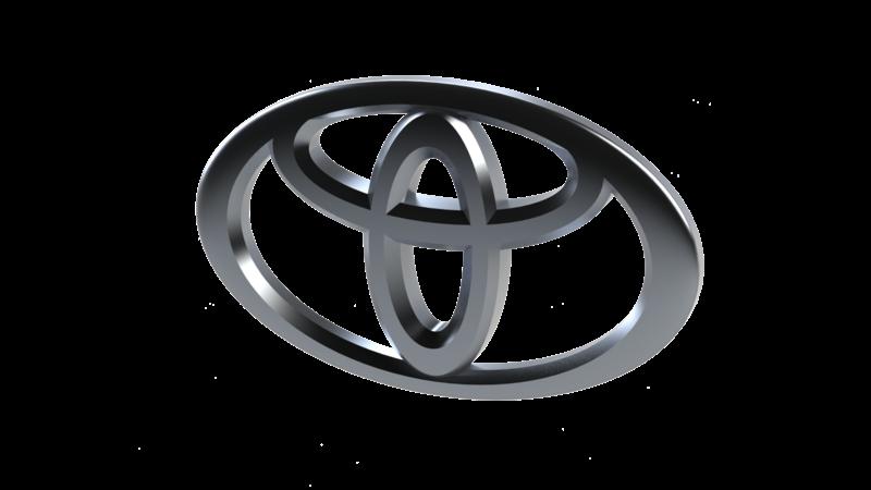 Toyota 3d Brand