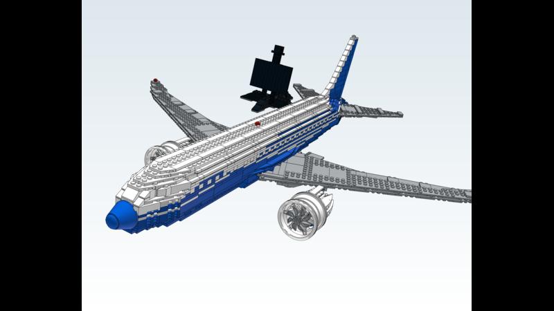 Boeing 787 Dreamliner - 3D Vehicle - 3D Data