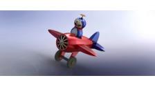 General Dynamics F-16 Fighting Falcon - 3D Vehicle - 3D Data