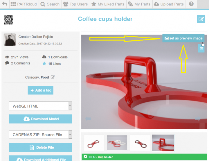 Free 2D Drawings Library & 3D CAD Models