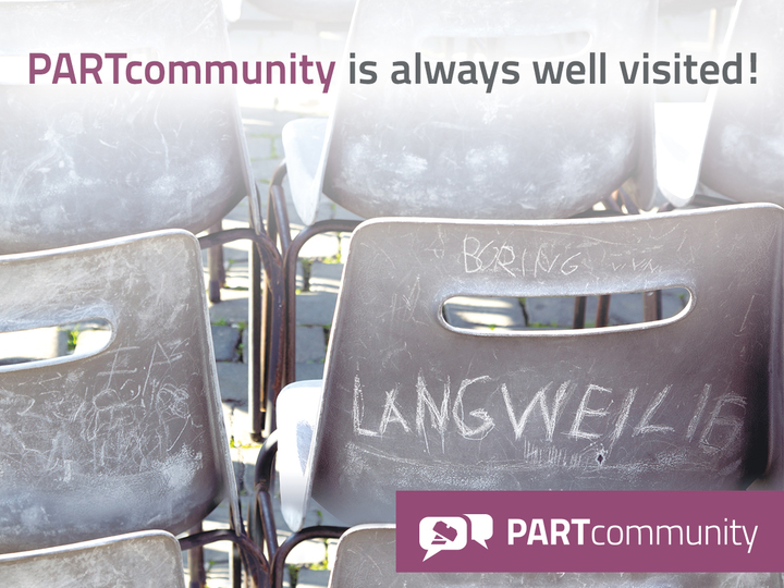 PARTcommunity is always well visited!