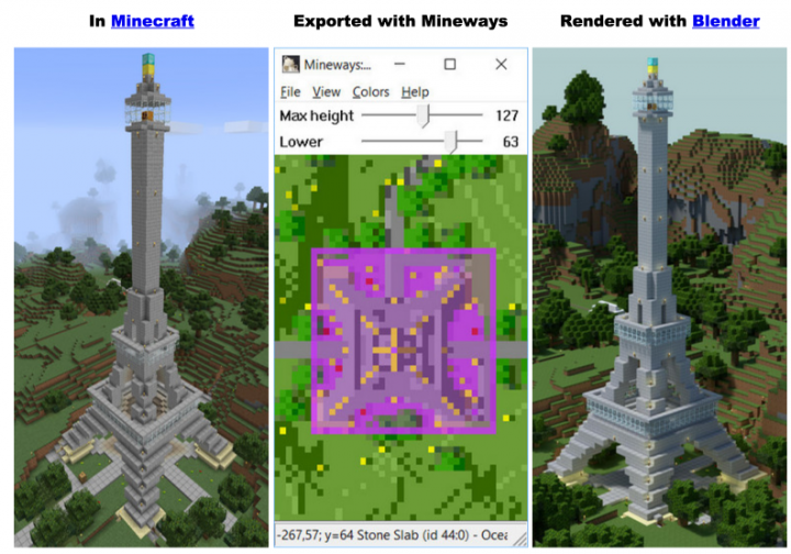 How you can convert your MINECRAFT MAPS to 3D Models