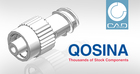 Qosina launches its interactive catalog of 3D cad models built by CADENAS