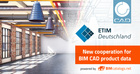 New cooperation: ETIM Deutschland & CADENAS will jointly provide BIM data for ETIM MC
