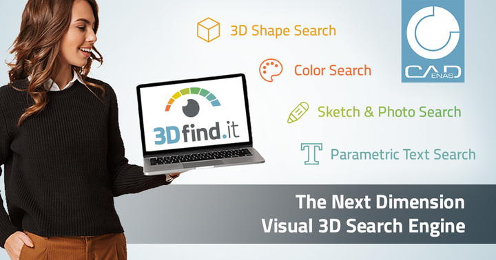 Green light for 3Dfind.it – The visual search engine of the next dimension for 3D manufacturer components - News