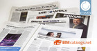 German newspapers DIE WELT & Süddeutsche Zeitung inform in BIM special supplements 1 million potential readers about BIMcatalog