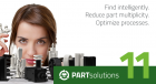 PARTsolutions V11: New Version optimizes the design process for engineers in terms of time and costs, and shortens time-to-mark