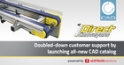 Direct Conveyors launches new 3D CAD catalog for their flat belt conveyors powered by CADENAS