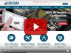 Encoder Products Company Launch New Responsive Website with Interactive 3D CAD Catalog built by CADENAS
