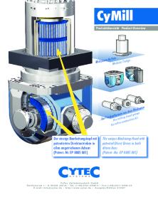 CyTec Zylindertechnik GmbH - CyMill - Mill Heads (INT) - CAD PDF Catalogs