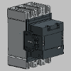 3D CAD MODELS- ABB Low Voltage & Systems - AF370 - 3-pole Contactors - AC or DC Operated - ABB - AF370-30-11