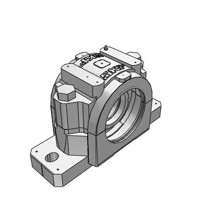 3D CAD MODELS- SE and SNL plummer block housings for