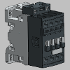 3D CAD MODELS - ABB Low Voltage & Systems - AF09 - 3 or 4-pole Contactors - AC or DC Operated - ABB - AF09(Z)-30-01 - Screw terminals - Top mounted coil terminals
