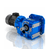 3D CAD MODELS- Motovario - CB - Helical bevel geared motor cast iron series with compact motor