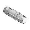 3D CAD MODELS- Univer - TZ-M5MC-D - Male connector 5MC Device NET
