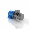 3D CAD MODELS- CHA - Helical geared motor aluminium series with compact motor
