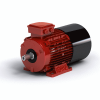 3D CAD MODELS- AC Induction Motor with Brake - Foot Mount - Electric Motors