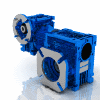 3D CAD MODELS- Motovario - NMRV-NMRV - Double worm geared motor fitted for motor coupling version PAM with sleeve