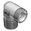 3D CAD MODELS- VOSS - Elbow male couplings, L/S-series, ANSI/ASME B 1 - Thread: NPT (ANSI/ASME B 1-20.01.1983) - 0717152000