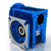 3D CAD MODELS- Motovario - NMRV - Worm geared motor fitted for motor coupling version PAM with sleeve - NMRV 110 - 7.5 250x28