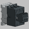 3D CAD MODELS - ABB Low Voltage & Systems - A75 - 3 or 4-pole Contactors - AC Operated - ABB - A 75-30-11 - Screw Terminals