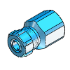 3D CAD MODELS - Festo - ACK - Quick connector - 5664 ACK-1/8-PK-3