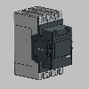 3D CAD MODELS- AF190 - 3-pole and 4-pole Contactors - AC or DC Operated